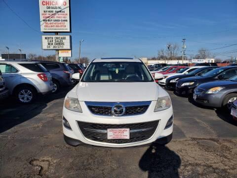 2010 Mazda CX-9 for sale at North Chicago Car Sales Inc in Waukegan IL