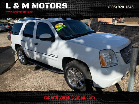 2008 GMC Yukon for sale at L & M MOTORS in Santa Maria CA