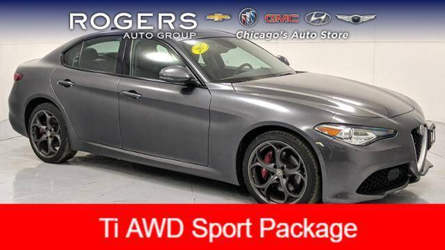 2017 Alfa Romeo Giulia for sale at ROGERS  AUTO  GROUP in Chicago IL