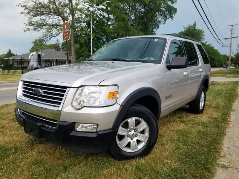 2007 Ford Explorer for sale at RBM AUTO BROKERS in Alsip IL