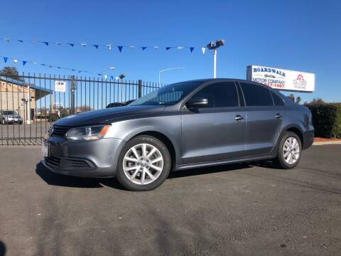 2012 Volkswagen Jetta for sale at BOARDWALK MOTOR COMPANY in Fairfield CA
