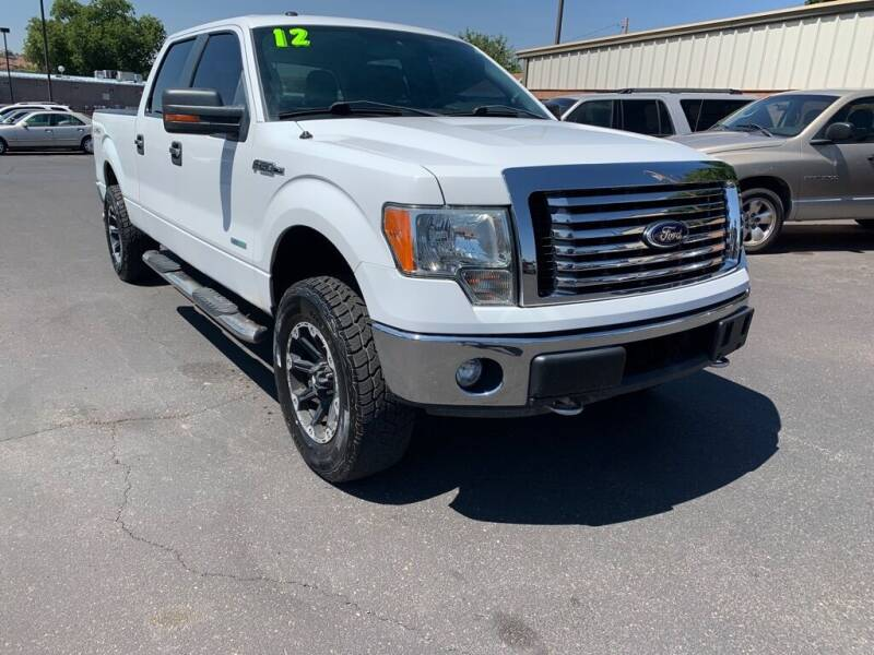 2012 Ford F-150 for sale at Robert Judd Auto Sales in Washington UT