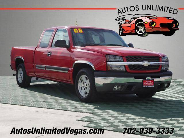 2005 Chevrolet Silverado 1500 for sale at Autos Unlimited in Las Vegas NV