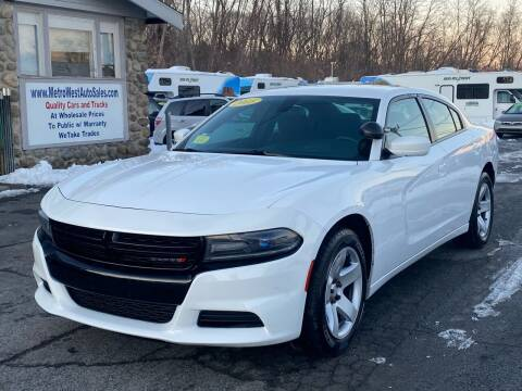 2015 Dodge Charger for sale at MetroWest Auto Sales in Worcester MA