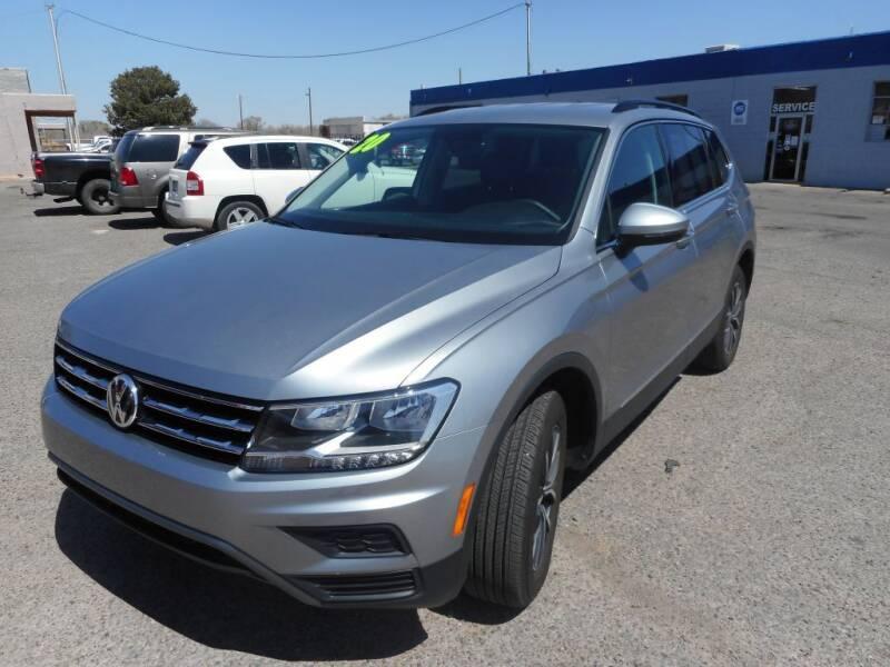 2020 Volkswagen Tiguan for sale at AUGE'S SALES AND SERVICE in Belen NM