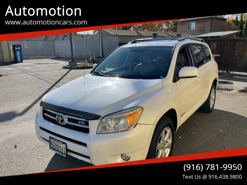 2007 Toyota RAV4 for sale at Automotion in Roseville CA