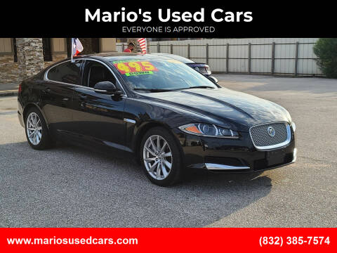2013 Jaguar XF for sale at Mario's Used Cars - Pasadena Location in Pasadena TX