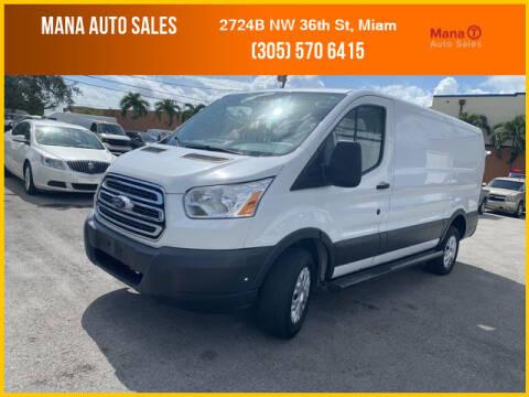 2015 Ford Transit Cargo for sale at MANA AUTO SALES in Miami FL