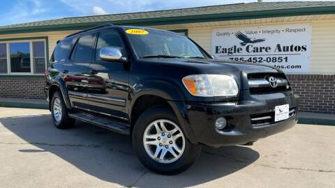 2007 Toyota Sequoia for sale at Eagle Care Autos in Mcpherson KS