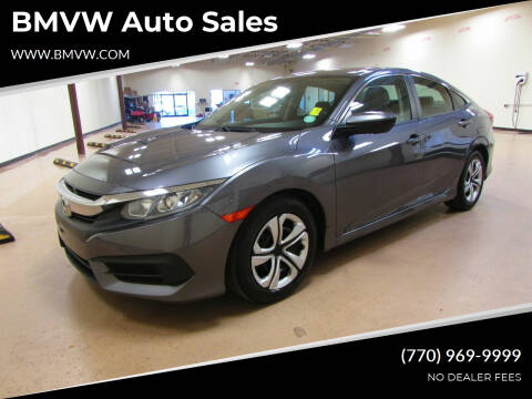 2017 Honda Civic for sale at BMVW Auto Sales in Union City GA