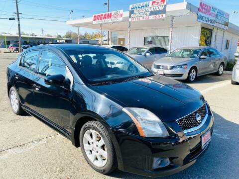 2012 Nissan Sentra for sale at Dream Motors in Sacramento CA