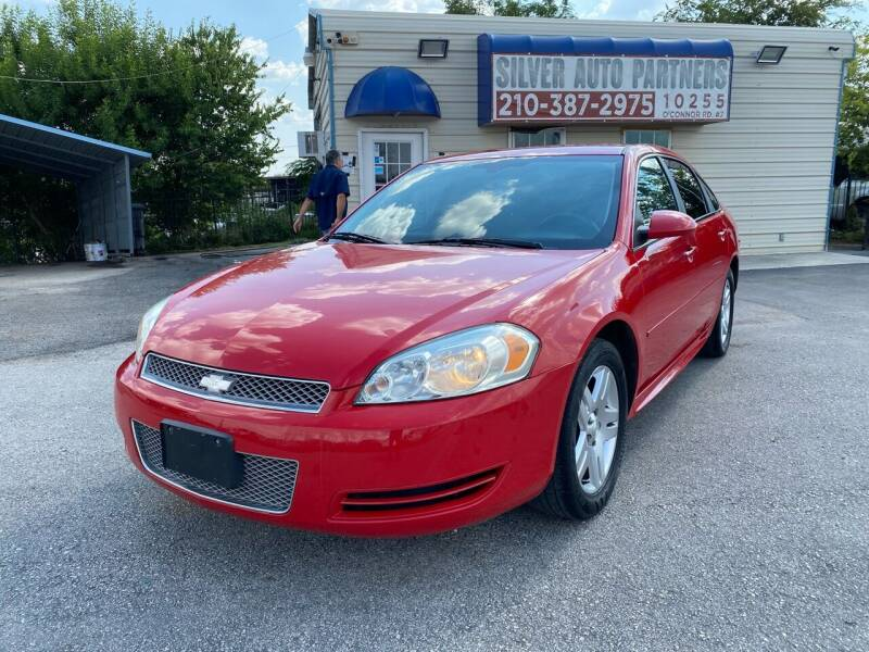 2013 Chevrolet Impala for sale at Silver Auto Partners in San Antonio TX