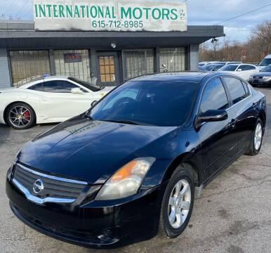 2009 Nissan Altima for sale at International Motors Inc. in Nashville TN