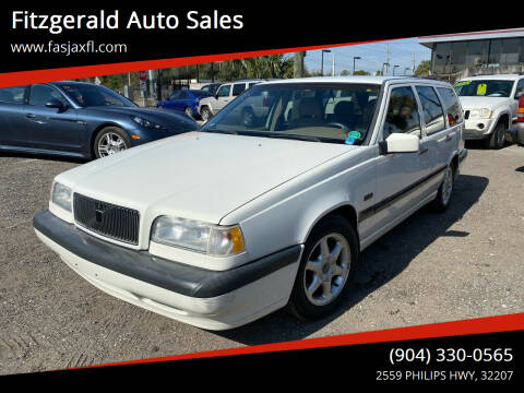 1996 Volvo 850 for sale at Fitzgerald Auto Sales in Jacksonville FL