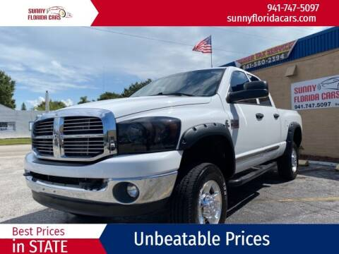 2008 Dodge Ram Pickup 2500 for sale at Sunny Florida Cars in Bradenton FL