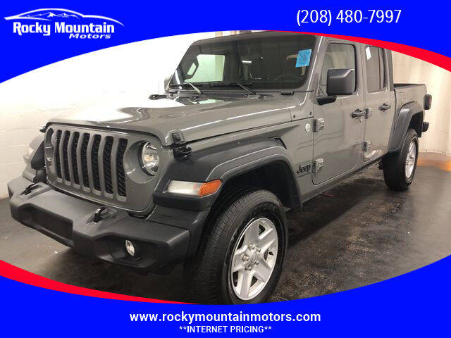 2020 Jeep Gladiator for sale at Rocky Mountain Motors in Idaho Falls ID
