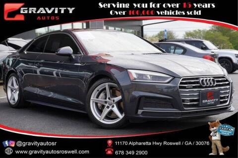 2018 Audi A5 for sale at Gravity Autos Roswell in Roswell GA