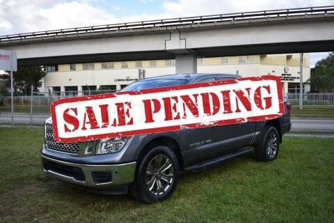 2018 Nissan Titan for sale at STS Automotive - Miami, FL in Miami FL