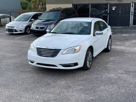 2012 Chrysler 200 for sale at GREAT DEAL AUTO in Tampa FL
