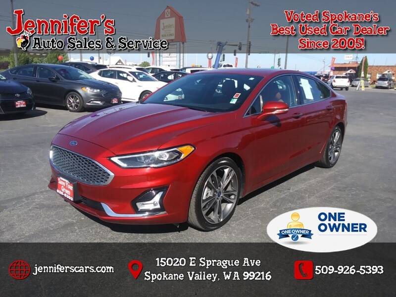 2019 Ford Fusion for sale at Jennifer's Auto Sales in Spokane Valley WA