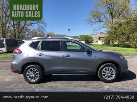 2019 Nissan Rogue for sale at BRADBURY AUTO SALES in Gibson City IL