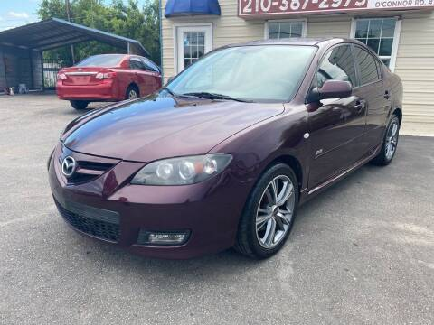 2007 Mazda MAZDA3 for sale at Silver Auto Partners in San Antonio TX