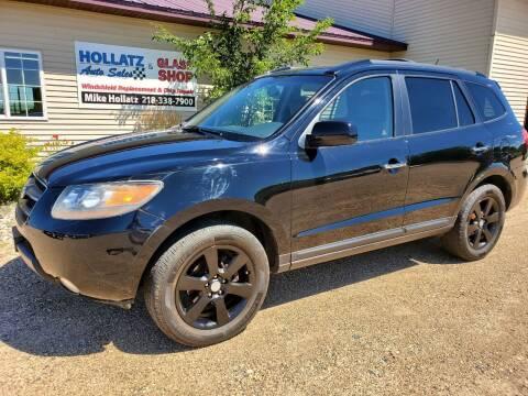 2009 Hyundai Santa Fe for sale at Hollatz Auto Sales in Parkers Prairie MN