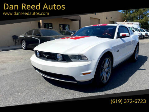 2012 Ford Mustang for sale at Dan Reed Autos in Escondido CA