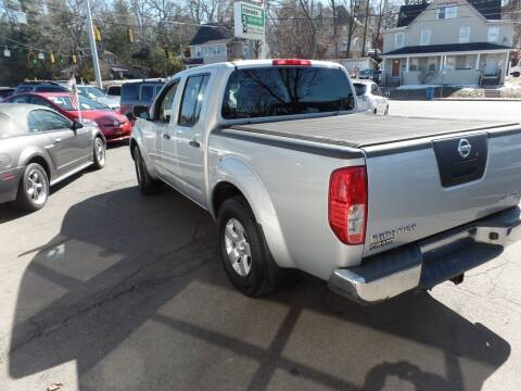 2011 Nissan Frontier for sale at CAR CORNER RETAIL SALES in Manchester CT