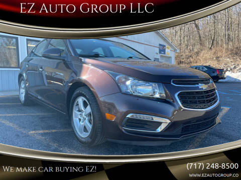 2015 Chevrolet Cruze for sale at EZ Auto Group LLC in Lewistown PA