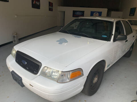 2010 Ford Crown Victoria for sale at SODA MOTORS AUTO SALES LLC in Newport RI