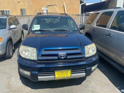 2004 Toyota 4Runner for sale at Affordable Auto Inc. in Pico Rivera CA