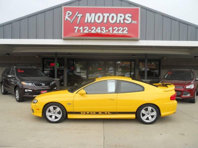 2004 Pontiac GTO for sale at RT Motors Inc in Atlantic IA
