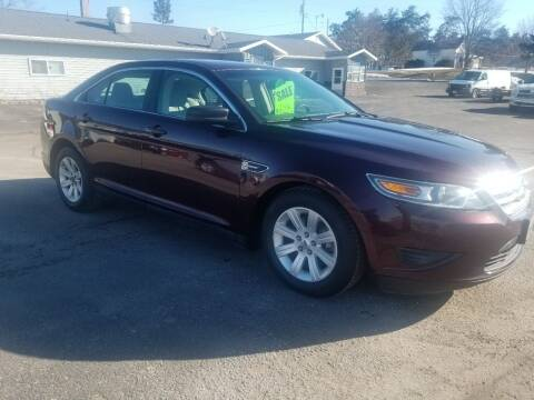 2011 Ford Taurus for sale at D AND D AUTO SALES AND REPAIR in Marion WI