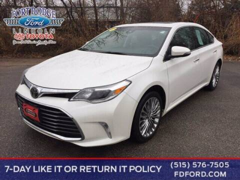 2018 Toyota Avalon for sale at Fort Dodge Ford Lincoln Toyota in Fort Dodge IA