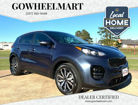 2017 Kia Sportage for sale at GoWheelMart in Leesville LA