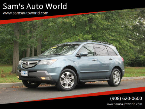 2008 Acura MDX for sale at Sam's Auto World in Roselle NJ