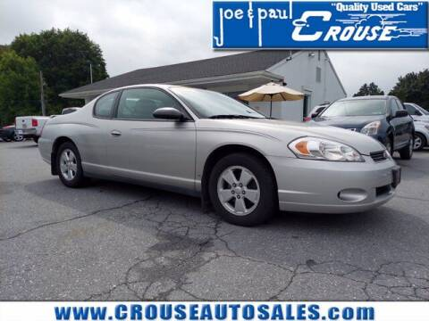 2006 Chevrolet Monte Carlo for sale at Joe and Paul Crouse Inc. in Columbia PA