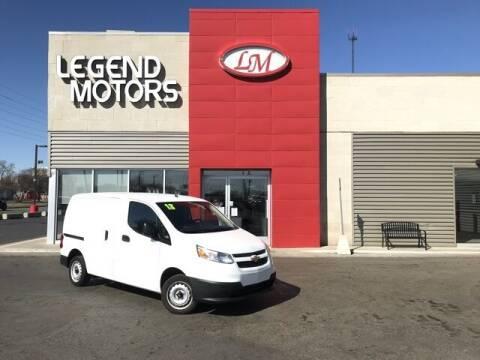 2018 Chevrolet City Express Cargo for sale at Legend Motors of Waterford - Legend Motors of Ferndale in Ferndale MI