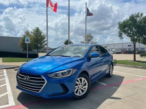 2017 Hyundai Elantra for sale at TWIN CITY MOTORS in Houston TX