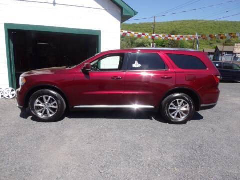 2016 Dodge Durango for sale at RJ McGlynn Auto Exchange in West Nanticoke PA