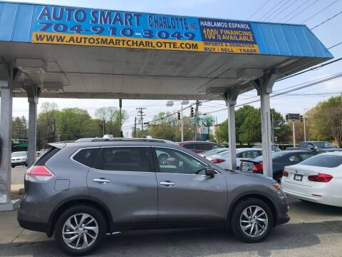 2014 Nissan Rogue for sale at Auto Smart Charlotte in Charlotte NC