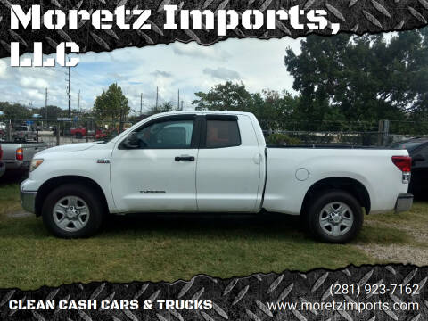 2010 Toyota Tundra for sale at Moretz Imports, LLC in Spring TX