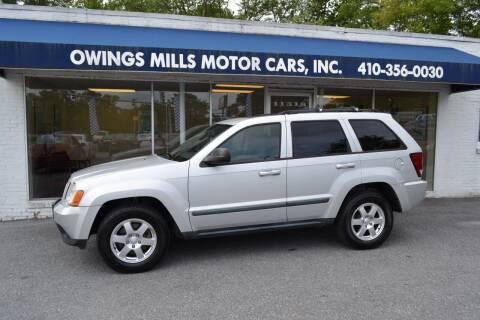 2008 Jeep Grand Cherokee for sale at Owings Mills Motor Cars in Owings Mills MD