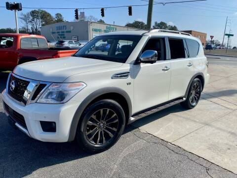 2017 Nissan Armada for sale at Lux Auto in Lawrenceville GA