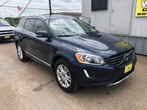 2015 Volvo XC60 for sale at Rock Motors LLC in Victoria TX