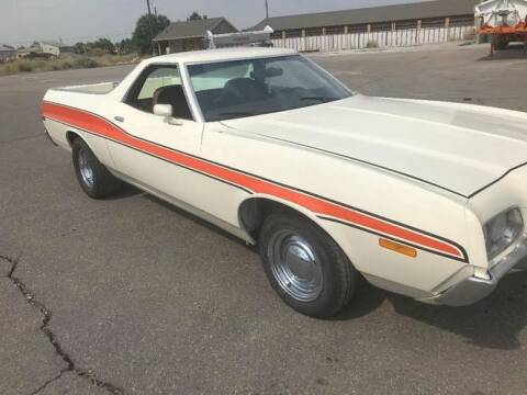 1972 Ford Ranchero for sale at Classic Car Deals in Cadillac MI