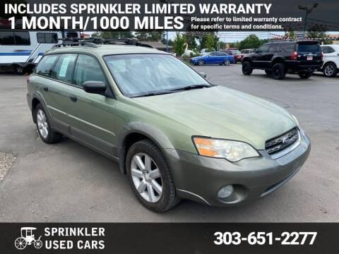 2007 Subaru Outback for sale at Sprinkler Used Cars in Longmont CO