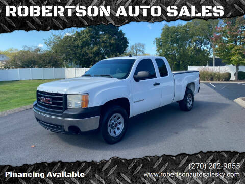 2008 GMC Sierra 1500 for sale at ROBERTSON AUTO SALES in Bowling Green KY