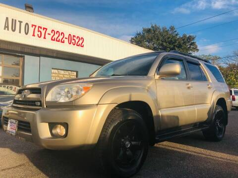 2008 Toyota 4Runner for sale at Trimax Auto Group in Norfolk VA